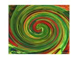 Spiralicious Premium Giclee-trykk av Herb Dickinson