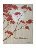 Spring Blooms IIc Premium Giclee-trykk av Herb Dickinson