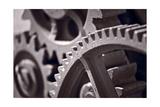 Gears Number 3 Reproduction photographique par Steve Gadomski