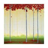 Scarlet Grove Premium Giclee-trykk av Herb Dickinson