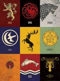 Game of Thrones - Sigils Kunst