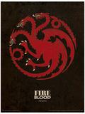 Game of Thrones - Targaryen Affiche originale