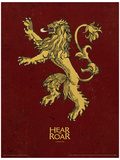 Game of Thrones - Lannister Stampa master
