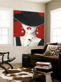 Haute Chapeau Rouge I Posters par Marco Fabiano