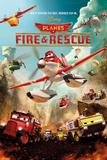 Disney Planes - Fire and Rescue Poster