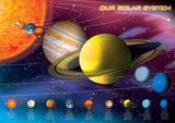 Sonnensystem Kunstdruck