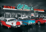 Al Macs Diner Poster