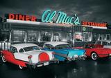 Al Macs Diner Kunstdruck
