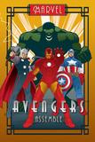 Marvel Deco - Avengers Kunstdruck