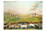The Cornell Farm, 1848 Posters av Edward Hicks