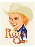 Rodeo Queen Art by Richard Weiss