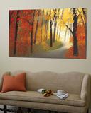 Autumn Road Prints by Lynn Krause