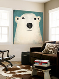Polar Bear Kunstdrucke von Ryan Fowler