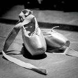 Layman – Ballettschuhe Kunstdruck von  Blonde Attitude