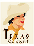 Texas Cowgirl Poster by Richard Weiss