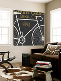 Fixed Gear Bike Co. Plakater av Michael Mullan