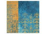 Powder Blue Lace II Kunstdrucke von Rachel Travis