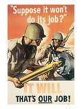 Suppose It Won't Do Its Job Poster tekijänä Harry Morse Meyers