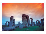 Stonehenge Poster by Clifton Hill