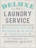 Laundry I Poster di  The Vintage Collection