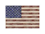 U.S. Flag Giclée-tryk af  Sparx Studio