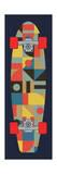 Bauhaus Skateboard Giclée-Druck