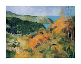 Large Panoramic View I Premium Giclee Print by Boscoe Holder