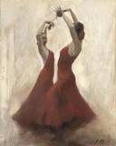 Flamenco I Stampa giclée di Michael Alford