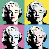 Icon in Colour Stampa giclée di Clara Wells