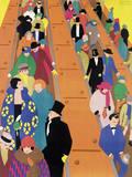 Brightest London is Best Reached by Underground, 1924 Giclée-Druck von Horace Taylor