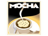 Deco Mocha II Poster by Richard Weiss