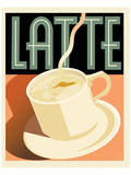 Deco Latte I Posters by Richard Weiss