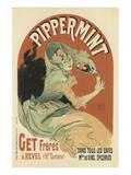 Pippermint Posters por Jules Chéret