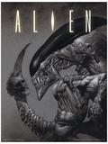 Alien - Head on Tail Masterprint