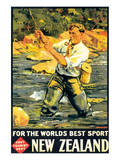 New Zealand, For The Worlds Best Sport Poster