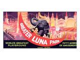 Greater Luna Park, The Worlds Greatest Playground Affischer