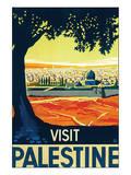Visit Palestine Poster von Franz Kraus
