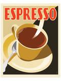 Deco Espresso II Print by Richard Weiss