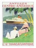Antilles, Centre-Amerique Posters