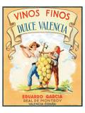 Dulce Valencia Vinos Finos Láminas