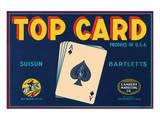Top Card Suisun Bartletts