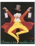 Liquor, Donne A Ton Meilleur Ami Poster by Jean D' Ylen
