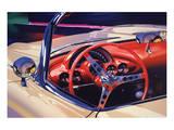 1958 Corvette Print by Graham Reynolds