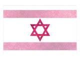 Pretty Pink Shield of David Prints