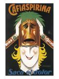Cafiaspirina Poster von Achille Luciano Mauzan
