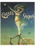 Cycles Sirius Póster por Henri Gray
