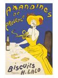 Amandines de Provence Julisteet tekijänä Leonetto Cappiello