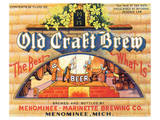 Old Craft Brew Plakater