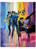 Jazz for Lovers Prints by Maya Green