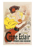 Creme Eclair, Entremets Exquis Instantane Poster